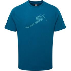 Mountain Equipment Yorik Miehet Lyhythihainen paita , sininen